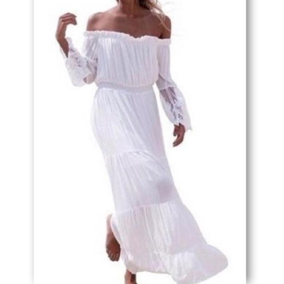 d1b3d2a58575 Women s Chiffon Summer Boho Long Maxi Dress